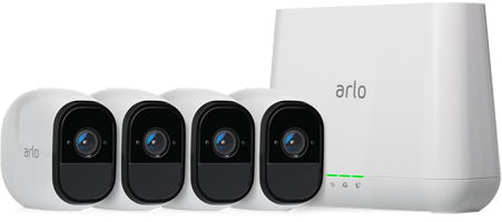 Arlo Pro Smart Security System with 4 Cameras (VMS4430)