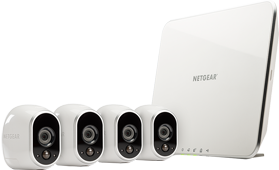 Arlo Smart Security System with 4 Cameras (VMS3430)