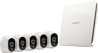 Arlo Smart Security System with 5 Cameras (VMS353O)