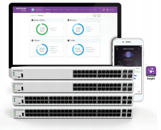 Insight Managed Gigabit Ethernet/10G SFP+ Smart Cloud Switches